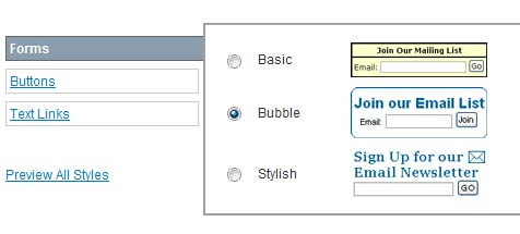 Different Style of Sign Up Form