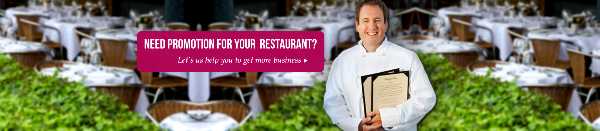 Restaurant Marketing collateral