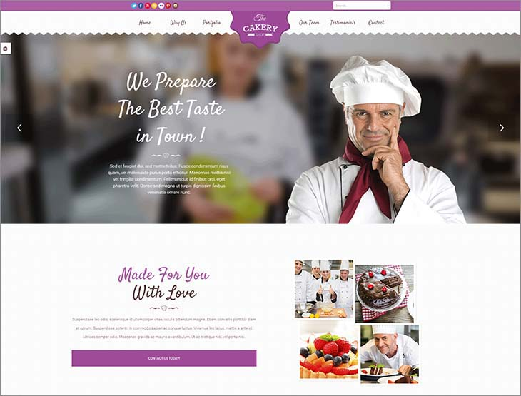 cake-website-templates-the-cakery